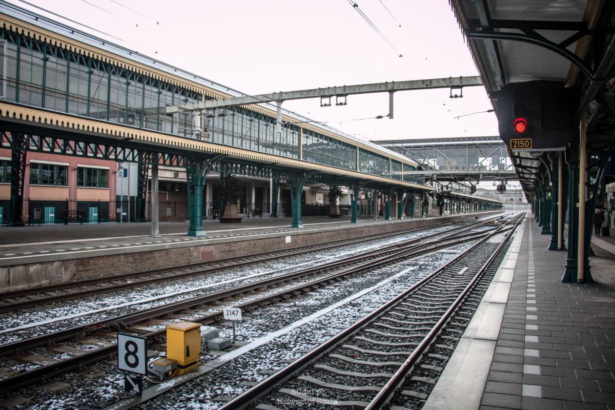 Perony na dworcu głównym w Den Bosch