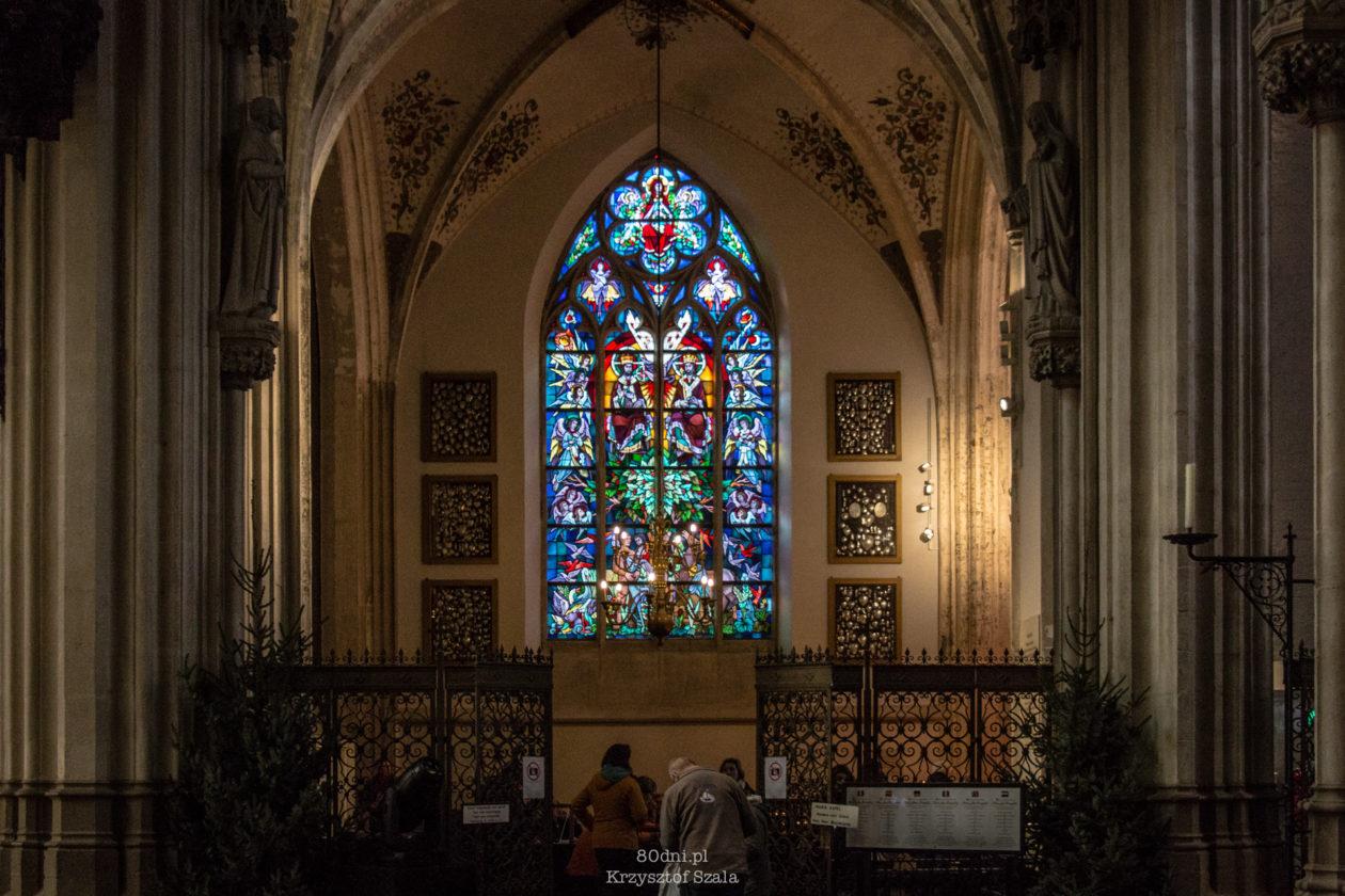Witraż Katedrze Św. Jana
