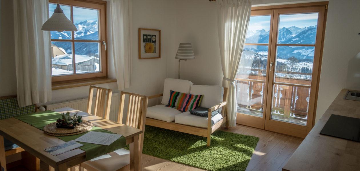Salon apartamentu w Ramsau am Dachstein