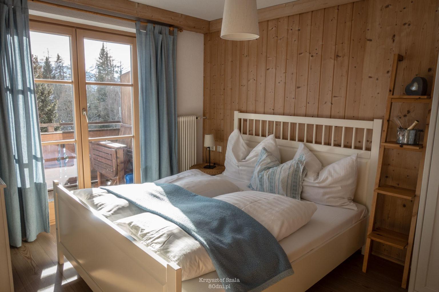 Sypialnia w apartamencie w Ramsau am Dachstein