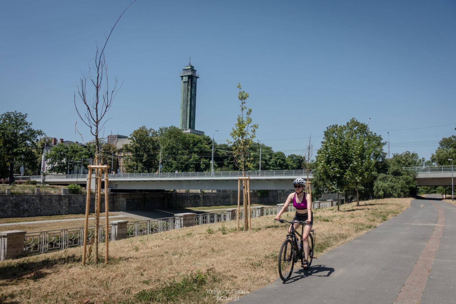 Z Ostrawy do Frydka-Mistka na rowerze.