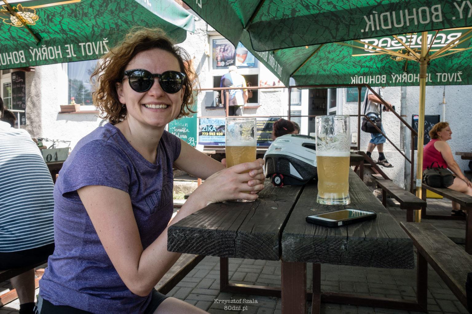 Można dostać również piwo bezalkoholowe.