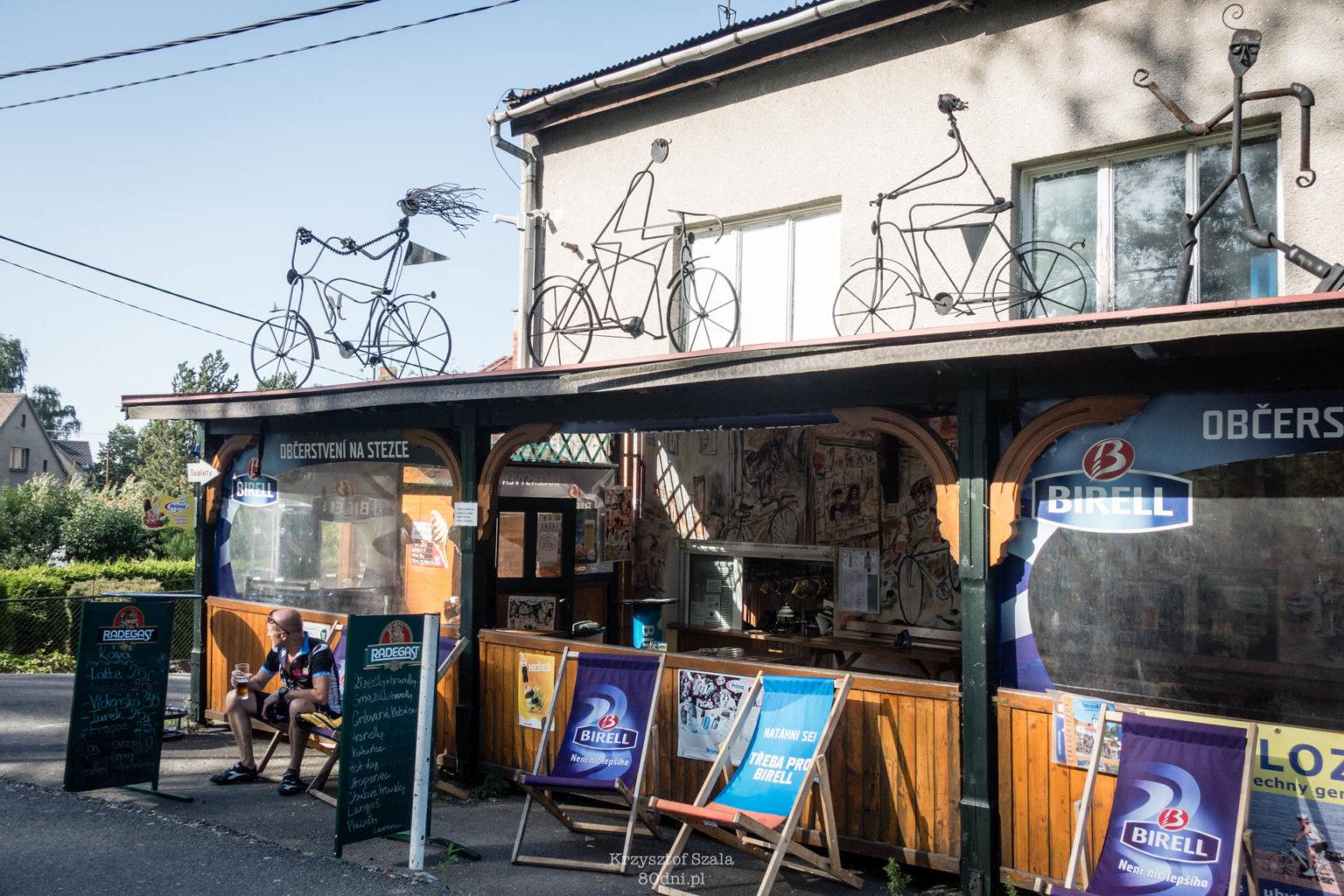 Cyklozahradka w miejscowości Vratimov.