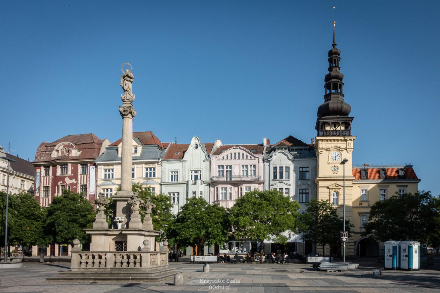 Plac Masaryka w morawskiej części Ostrawy