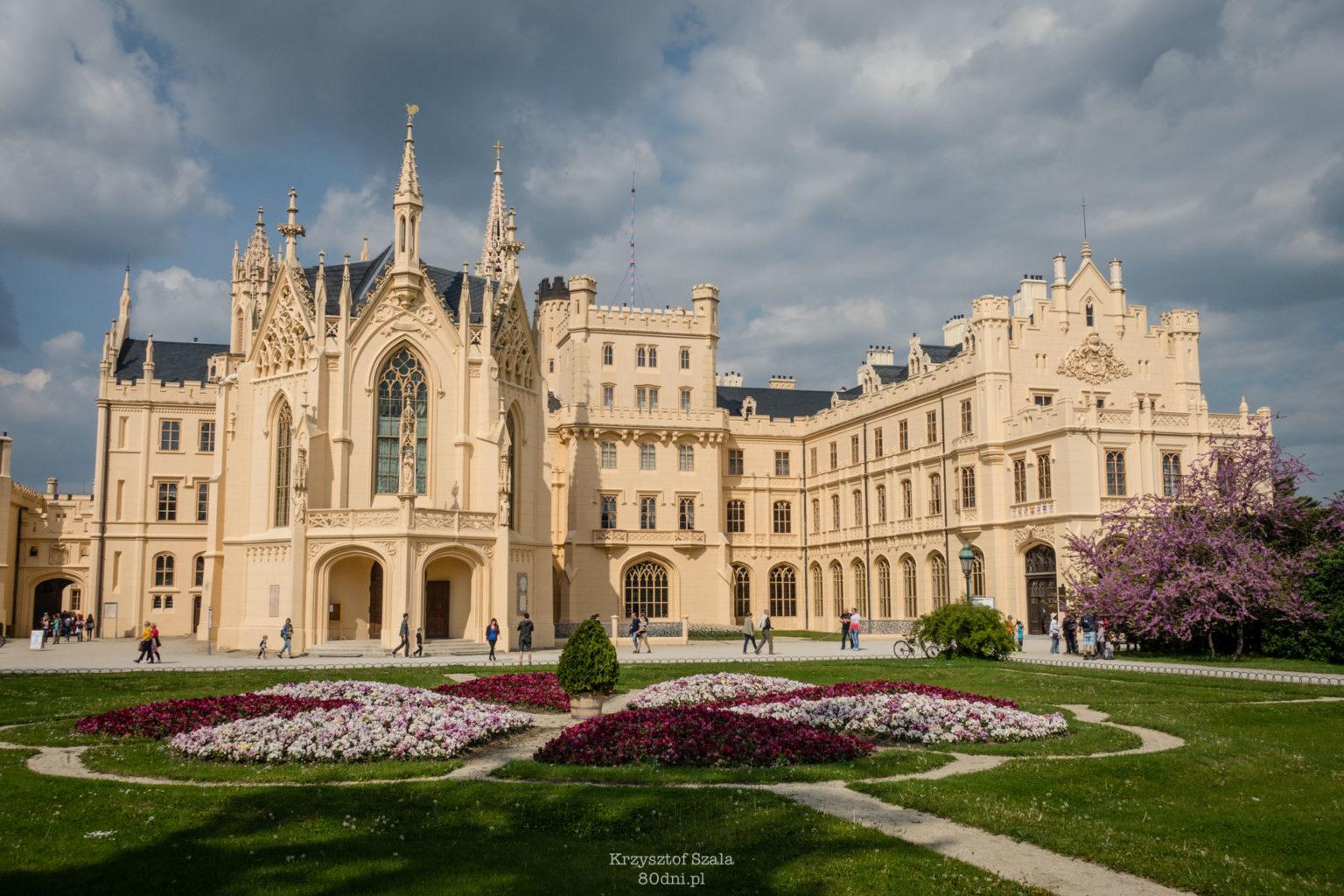 Pałac w Lednicach znajduje się na liście dziedzictwa UNESCO.
