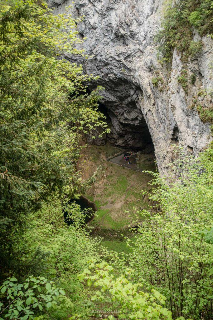Propast Macocha – największy lej krasowy w Czechach.